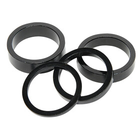 Salt Spacer Set 3/5/8/10mm black